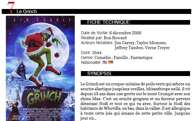 .TOP 8Des Films à voir pour Noël..
