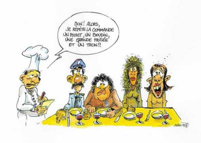 Commande au restaurant l 39 humour au rendez vous l for Diner entre collegues