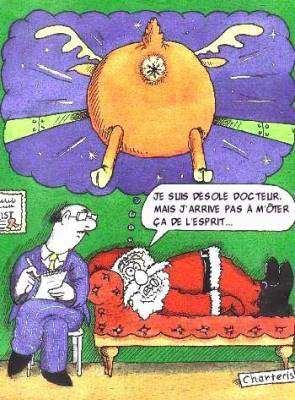 Humour Pere Noel Image.Le Pere Noel Chez Le Psy L Humour Au Rendez