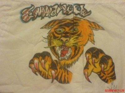 Tigre Ed Hardy