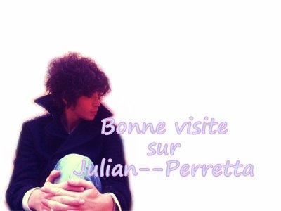Bienvenue sur le blog Julian--Perretta
