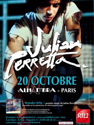 ♥ Julian Perretta, en concert ♥