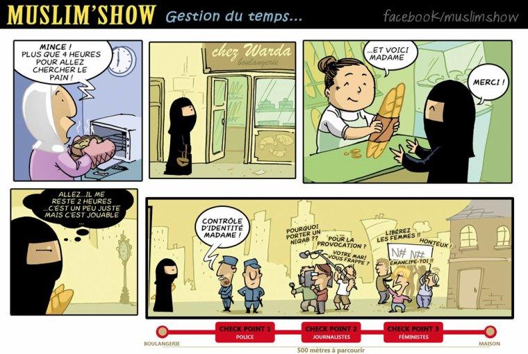 Le Muslim Show ! MDR la BD de blédar !