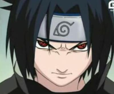 Sasuke version sharingan
