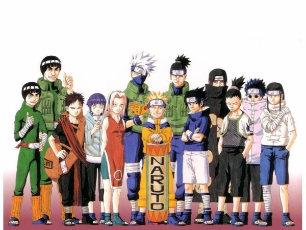 The world of Naruto