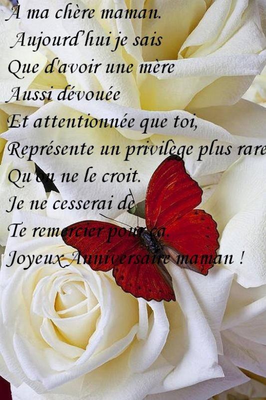 Joyeux Anniversaire Maman Blog De Minibibouchou