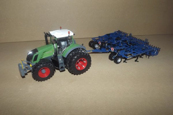 Fendt 828 et Kockerling 620