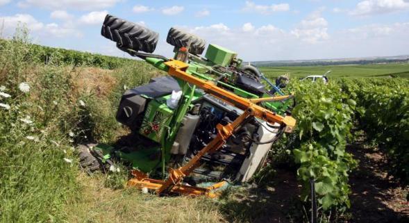 Accident Enjambeur