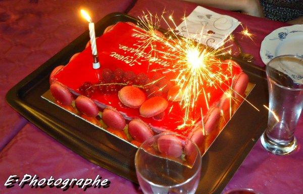Gateau d'anniversaire de ma cousine :)
