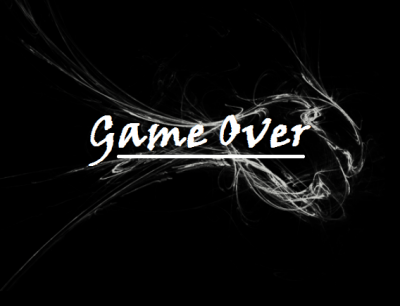 game over (resolution de nain)