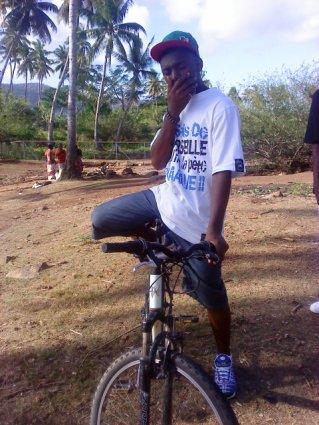 je fait un ptit tour en vélo