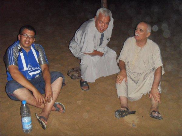 moi et ami kadour *kadour l'kuifie* et chikhe badri -grande bleu tipaza 2010
