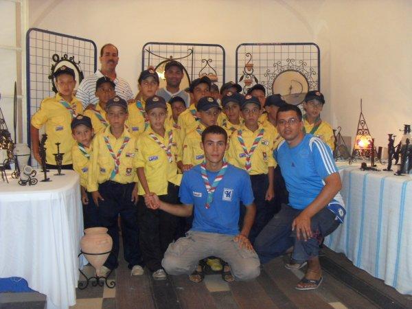 moi et amis nacer * Littérale* avec les Scouts misilmane de l'khdaria en tipaza 2010