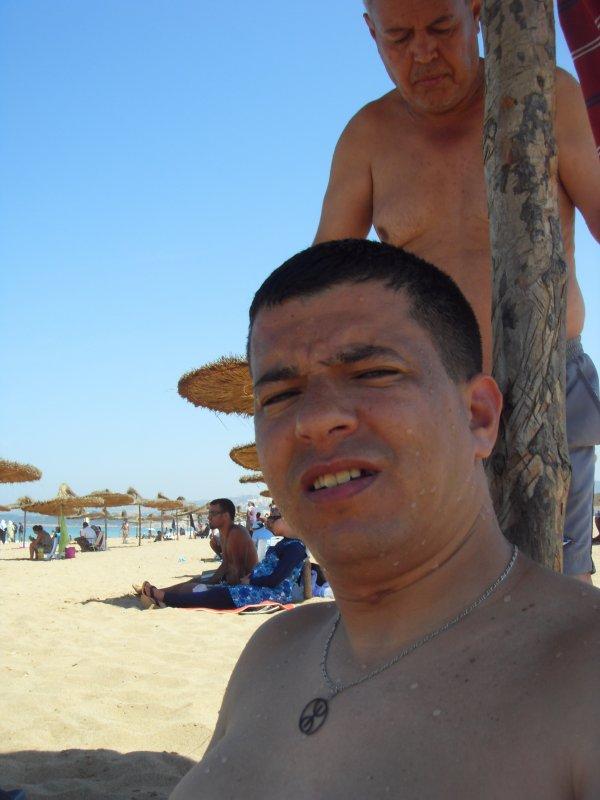 moi en plage de grande bleu tipaza 2010