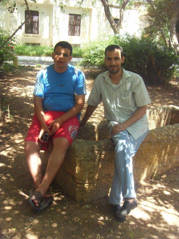 moi et mon amis kamel d(alger