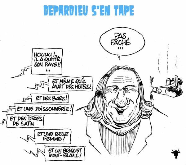 Le départ polémique de Gérard Depardieu