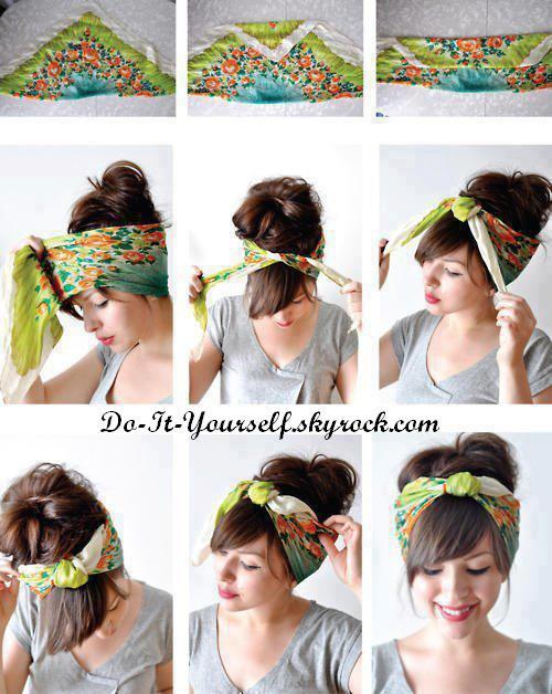 Se faire de jolis accessoires pour les cheveux!