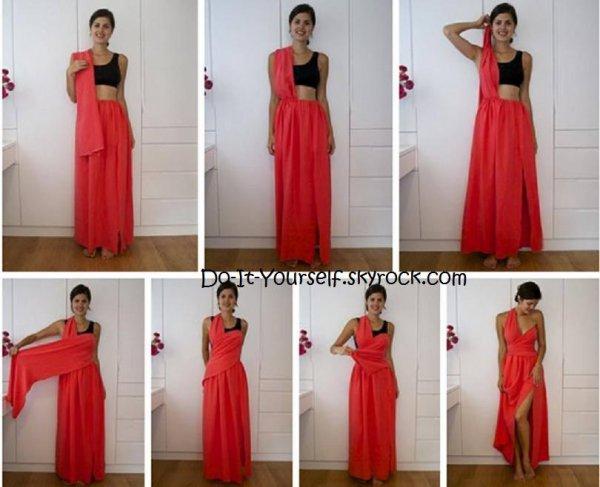 Une robe plus vraie que nature!