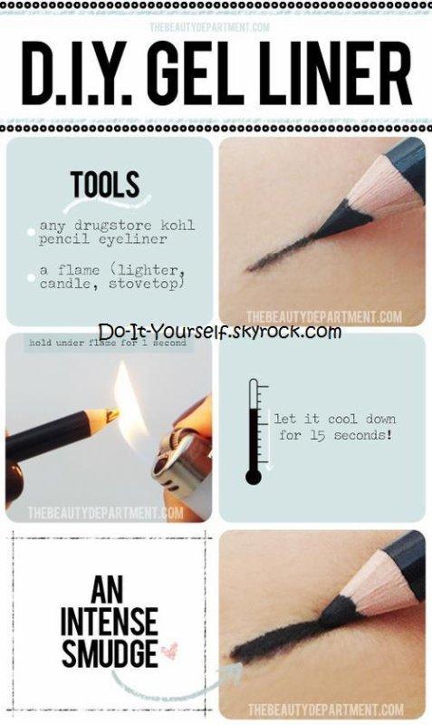 Redonner vie à ses crayons et à son fond de teint!