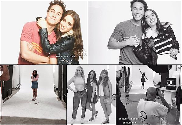 Il y a quelques temps, les acteurs de Soy Luna ont réaliser un photoshoot pour la saison 2. Voici quelques photos de Carolina dans les backstages !