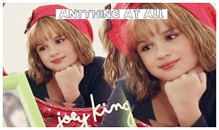 """Joey se lance dans la chanson avec sa chanson : """"ANYTHING AT ALL 3 """" ! Alors , tu en pense quoi ?"""