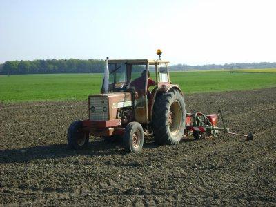 Semis de maïs chez moi 2011