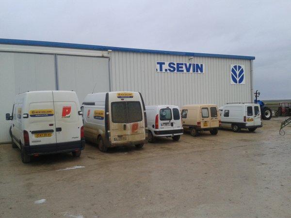 Petite visite chez Sevin agri ( New holland )