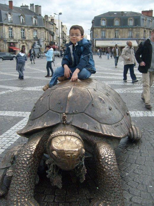 Photo souvenir de mon séjour à Bordeaux