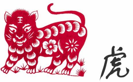 Mon signe chinois.   虎