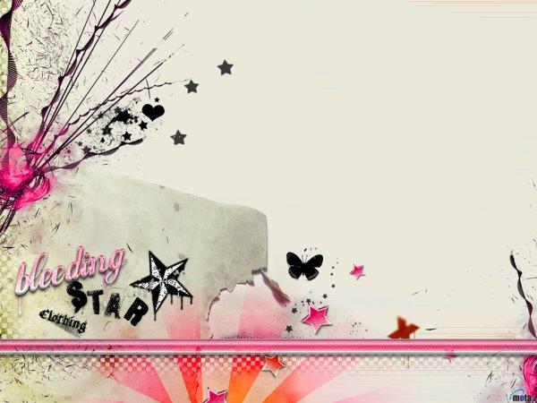 Amour, papillon, étoile, ...