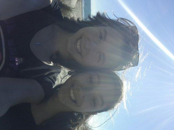 La plage avec ma meilleure amiiie