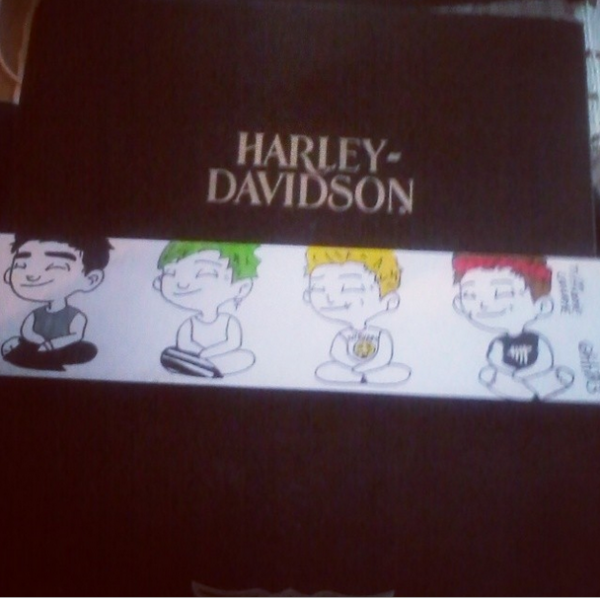 5 Seconds Of Summer Drawing !