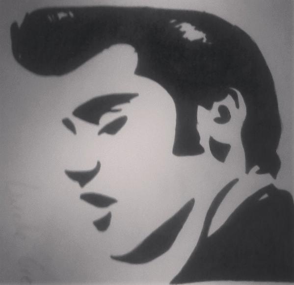 Elvis Presley Drawing !