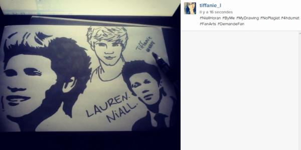 Niall Horan Drawing !