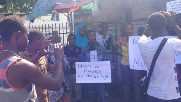 La situation est tres tendue à Ngazidja, surtout à Mitsoudje !