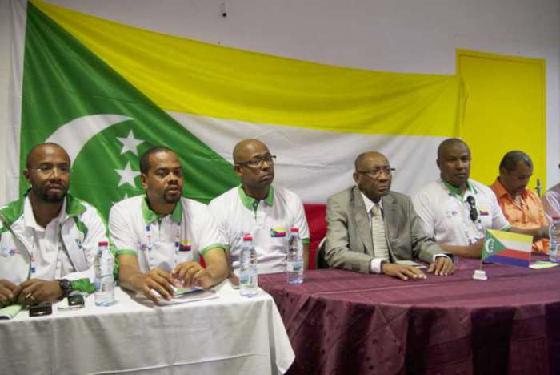 Jeux des îles : la délégation des Comores explique sa décision .« Tous les pays déplorent que la Charte ait été violée »