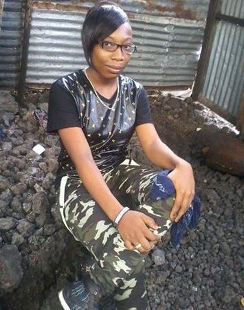 Hairia Ismaël Originaire de Mtsangani Moroni  est portée disparue depuis le 27 janvier