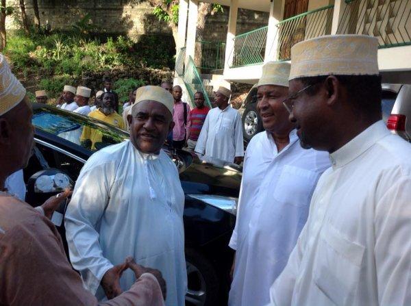 Mon choix s'est porté sur l'ancien président Azali Assoumani