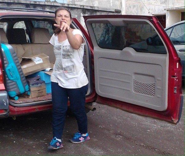 Madame  NOURIA SANTCHO a été arrêtée puis relâchée suite à une importante saisie des bulletins dans ses bagages à  l'île de Mwali .