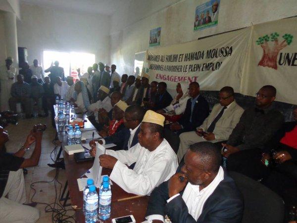 Mohamed Ali Soilihi alias Mamadou à  l'université de Nvouni .