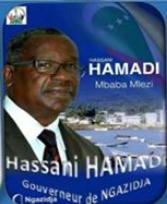Élections du gouverneur de Ngazidja : Hassani Hamadi déclaré vainqueur
