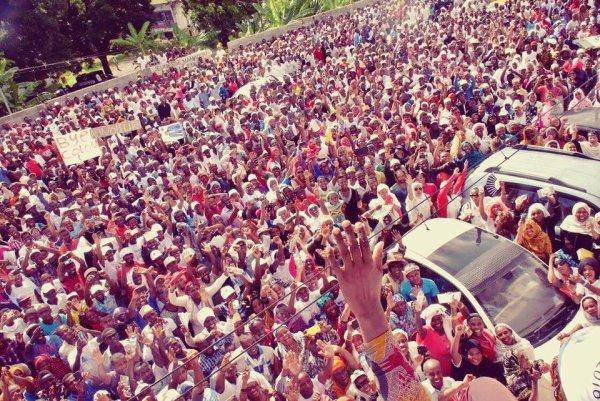 Présidentielle 2016 : Mohamed Ali Soilihi promet la victoire à ses sympathisants