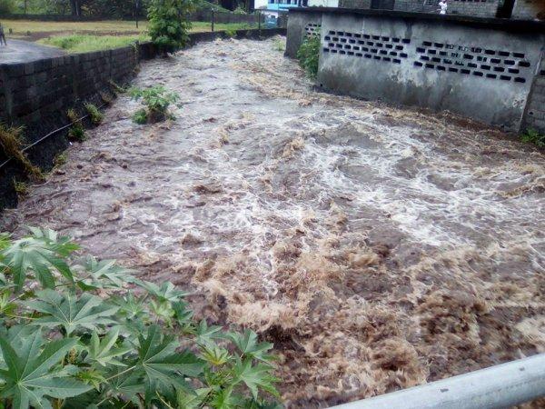 Les courants d'eau ont encore frappé