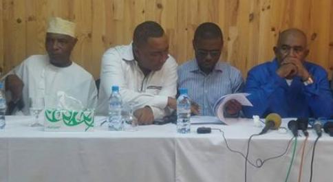 Conférence de presse du candidat Azali Assoumani !