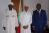Déclaration d'arrivée de la mission de l'Union africaine