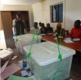 Les anjouanais votent dans le calme