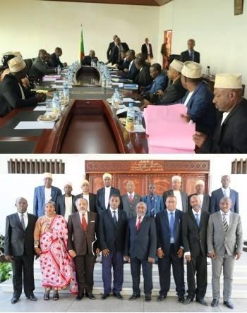 Compte rendu du premier conseil des Ministres du lundi 06 avril 2016