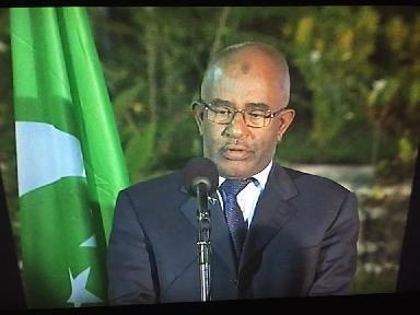 Discours du chef de l'Etat à l'occasion d'une double-fête!