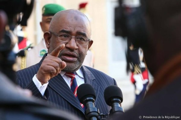 Entretien avec M. Azali Assoumani, président de l'Union des Comores