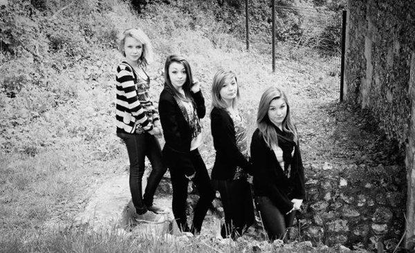 Mathilde,Meg,Anais,Ludivine♥.